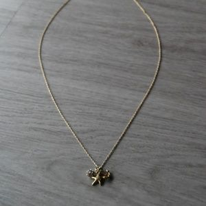 J. Crew Starfish Anchor Necklace